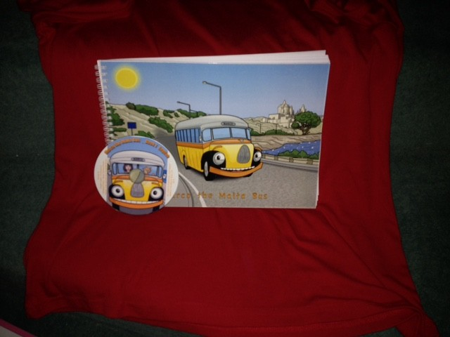 Marco the Malta Bus Book 1 (Illustrated Paperback) with Bundled Audio CD BK1 (Czech)