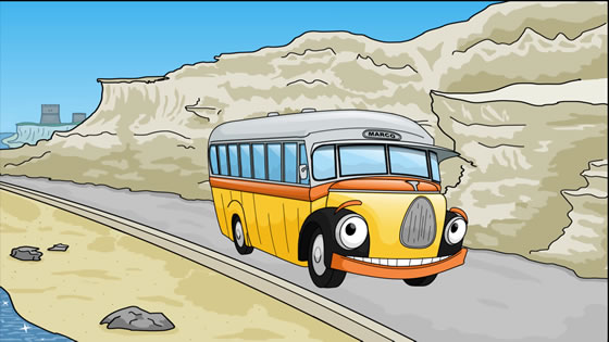 Marco the Malta Bus