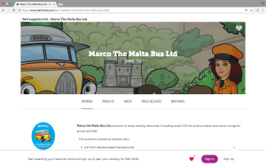 bett 2018 and Marco the malta Bus